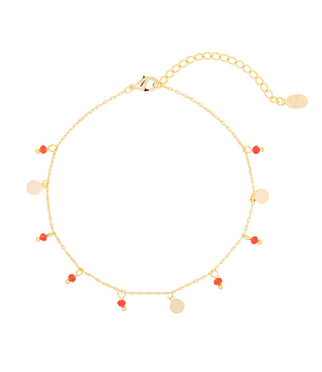 Beaded Party Anklet