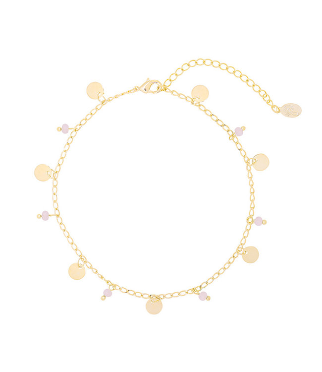 Funky Circles Anklet