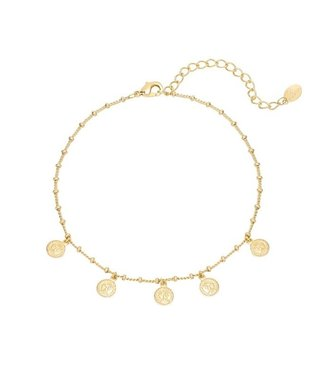 Tiny Coins Anklet