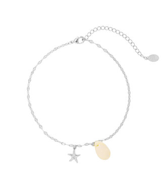 Sweet Sea Shell Anklet