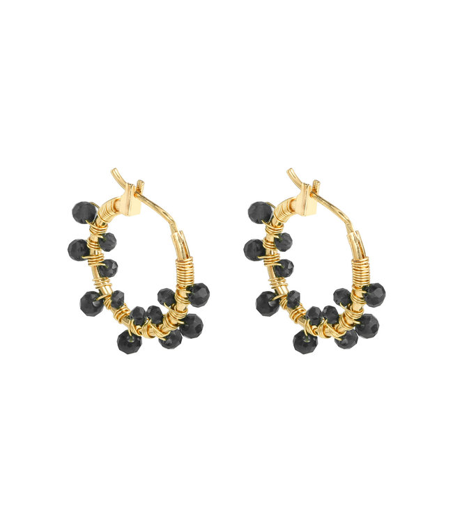 Colorful Crystal Beads Earrings
