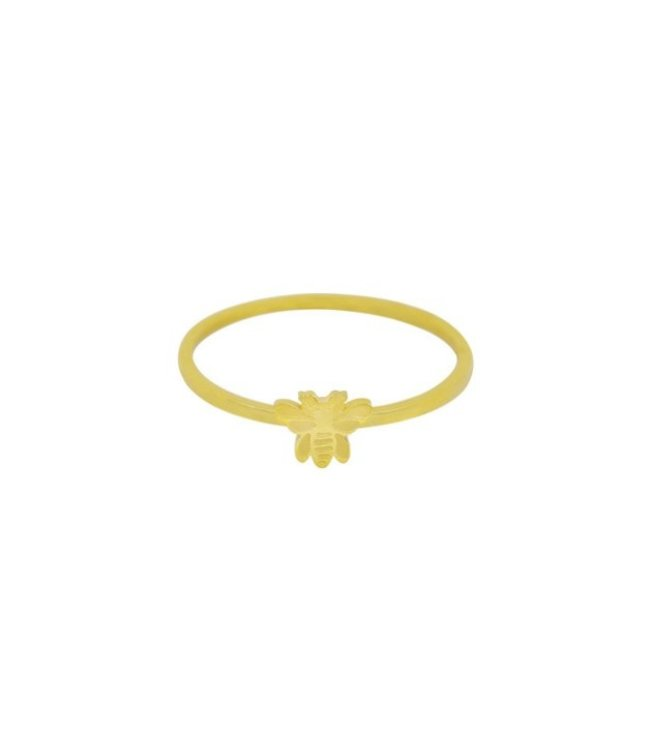 Gold Beelieve Ring