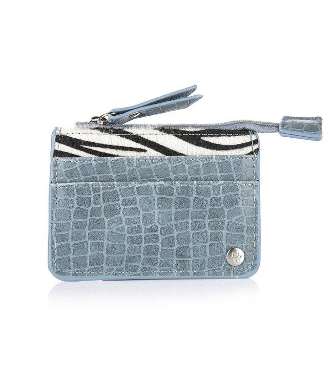 Zebra Cardholder / Blue