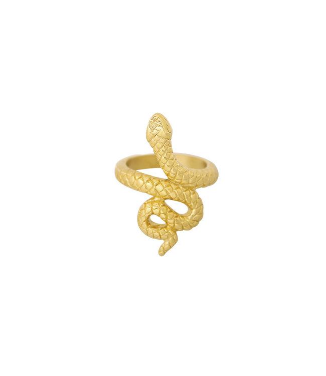 Flawless Snake Ring