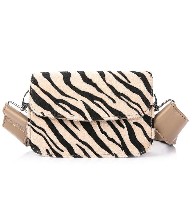 Zebra Bag / Beige