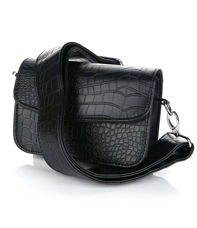 Joy Snake Bag / Black