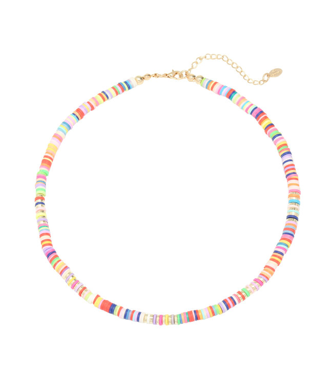 Ride the Waves Necklace / Colorful