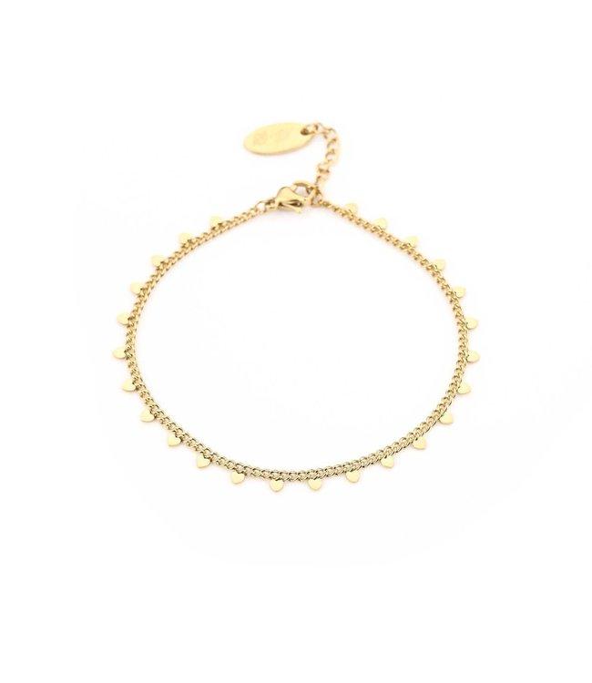 Tiny Hearts Bracelet