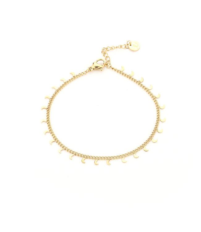 Tiny Moon Bracelet