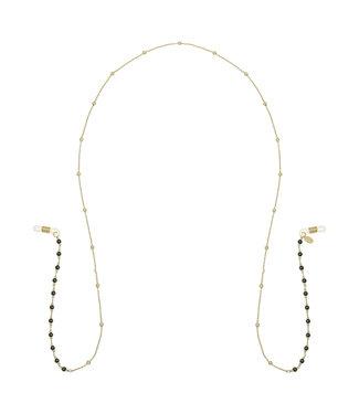 Beads Sunglasses Cord / Black