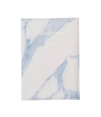 Marble Blue Passport Cover
