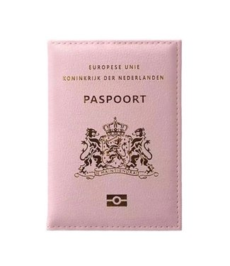 Pink Passport Cover