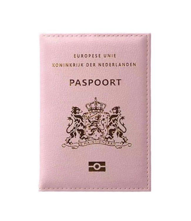 Pink Passport Cover