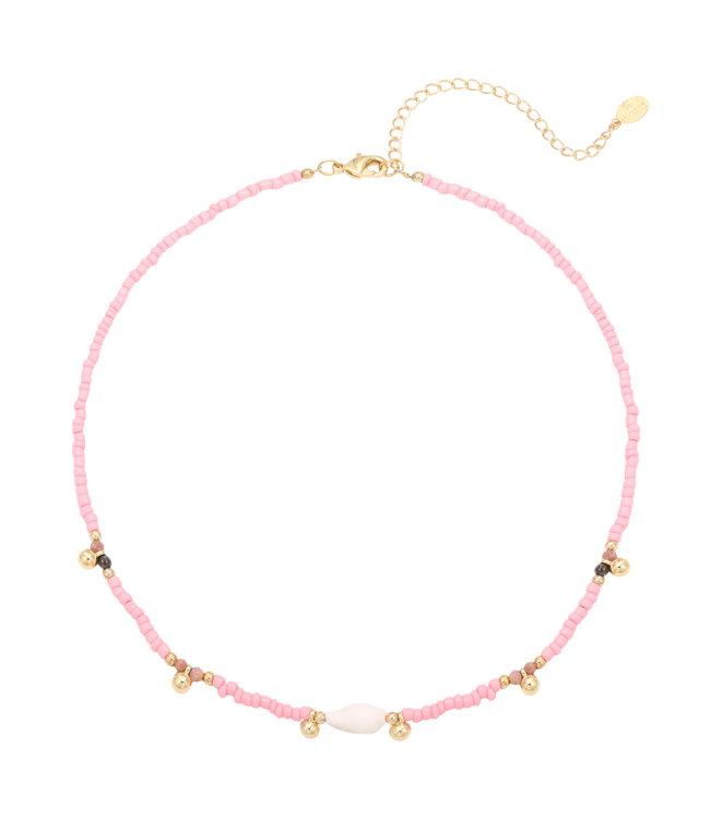 Fun Fair Necklace / Pink