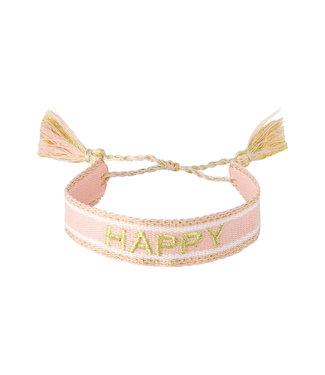 Woven Happy Bracelet