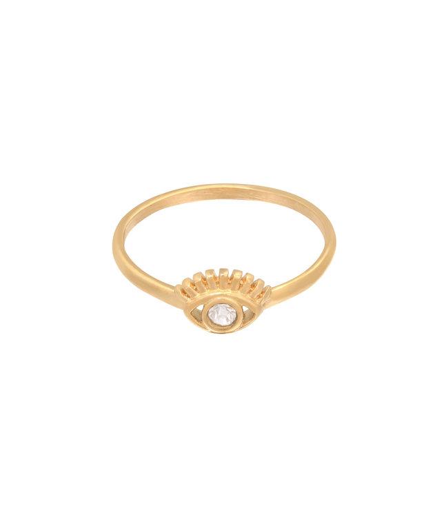 Sparkling Eye Ring