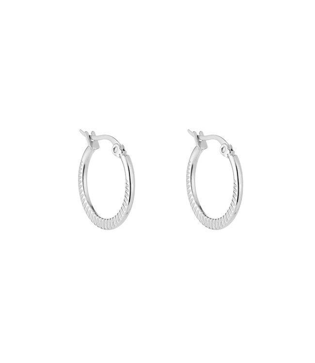Lucia Hoop Earrings