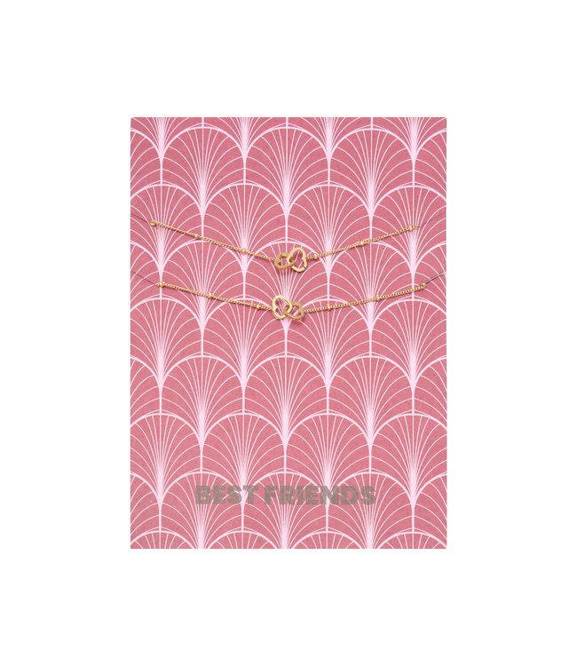 Bestfriends Bracelet Giftcard / Gold