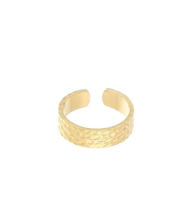 Gold Creole Jungle Ring
