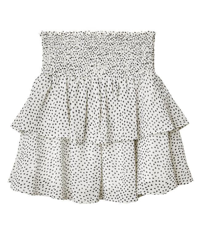 Miss Heart Skirt / White