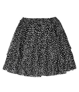 Ruffled Layers Skirt / Black