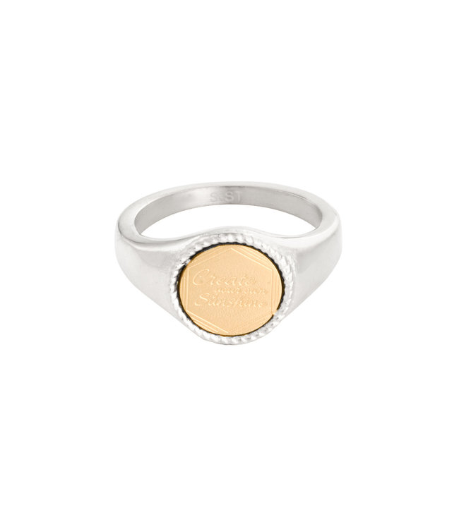Silver The Sunset Signet Ring