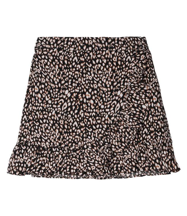 Spotted Skirt / Black