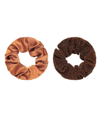 Dawn Scrunchie Set / Copper