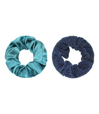 Dawn Scrunchie Set / Blue
