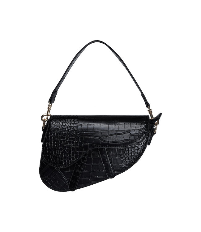 Vivian Moon Bag / Black