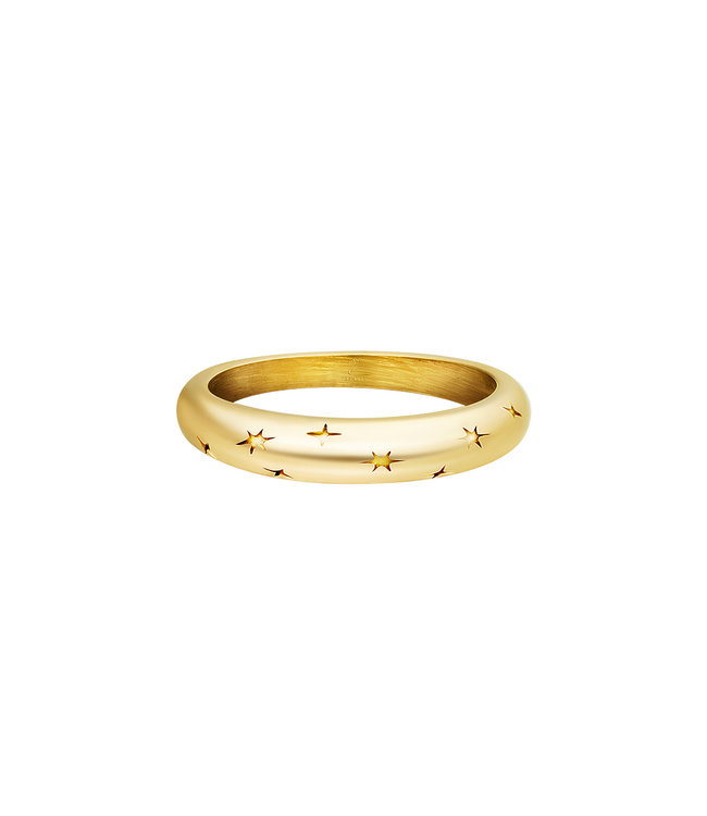 Gold Starry Sky Ring