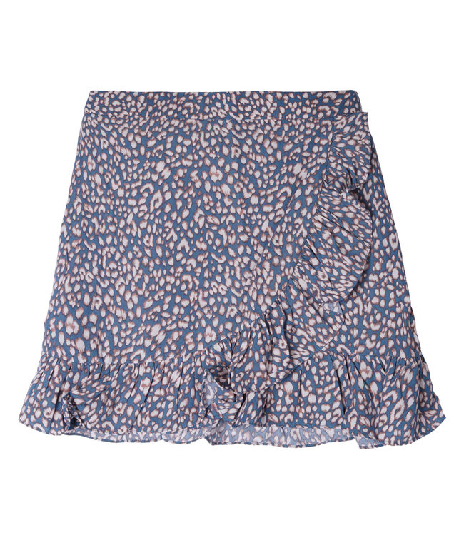 Spotted Skirt / Blue