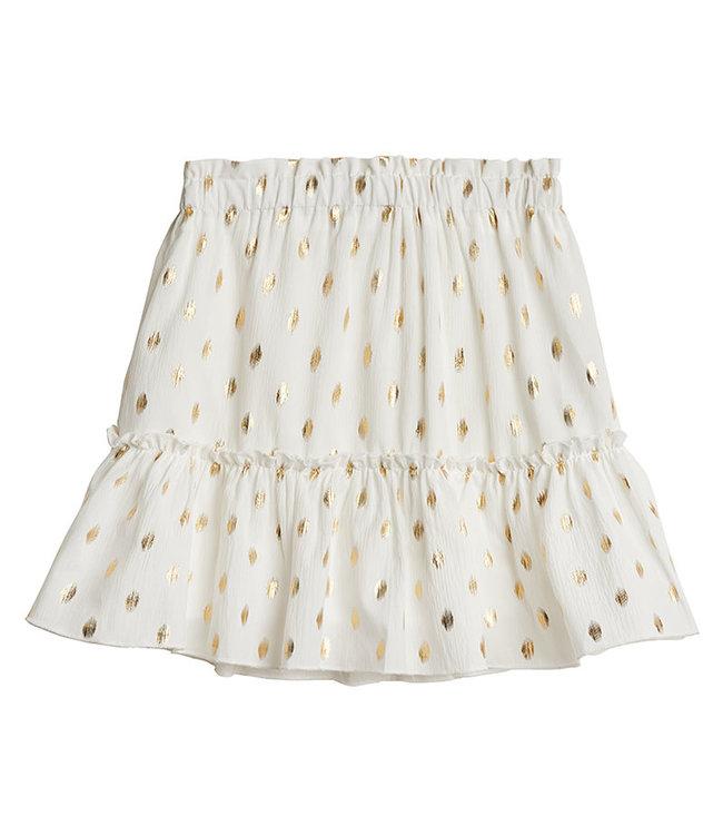 You are Golden Skirt / White