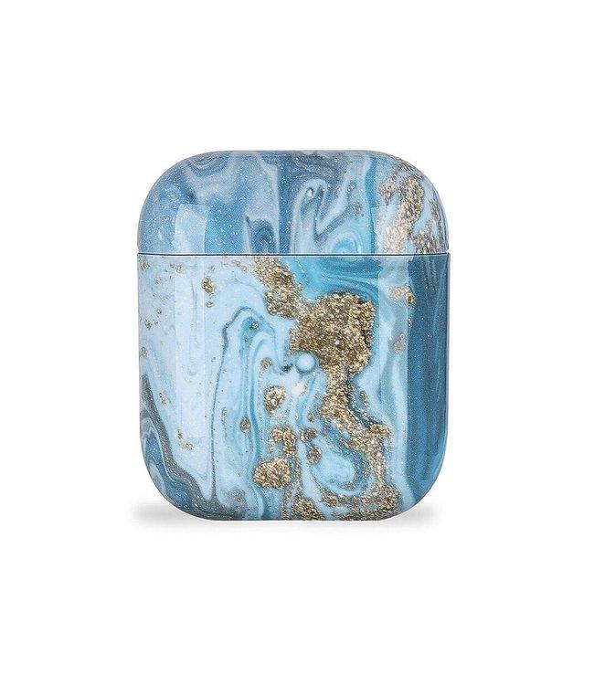 Sparkle Blue Airpods Case