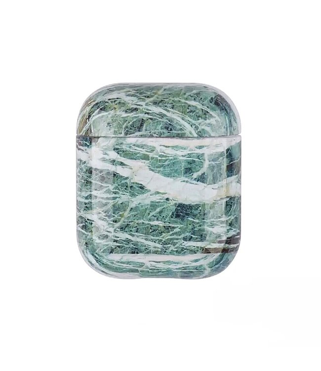 Swirl Green Airpods Case