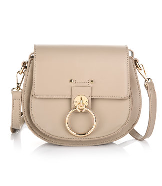 Bella Buckle Bag / Beige