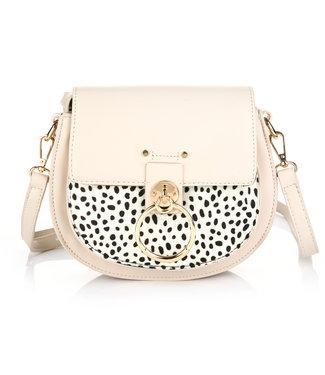 Cheetah Buckle Bag / Off White