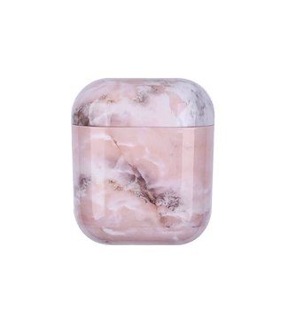 Marble Pink Airpods Case