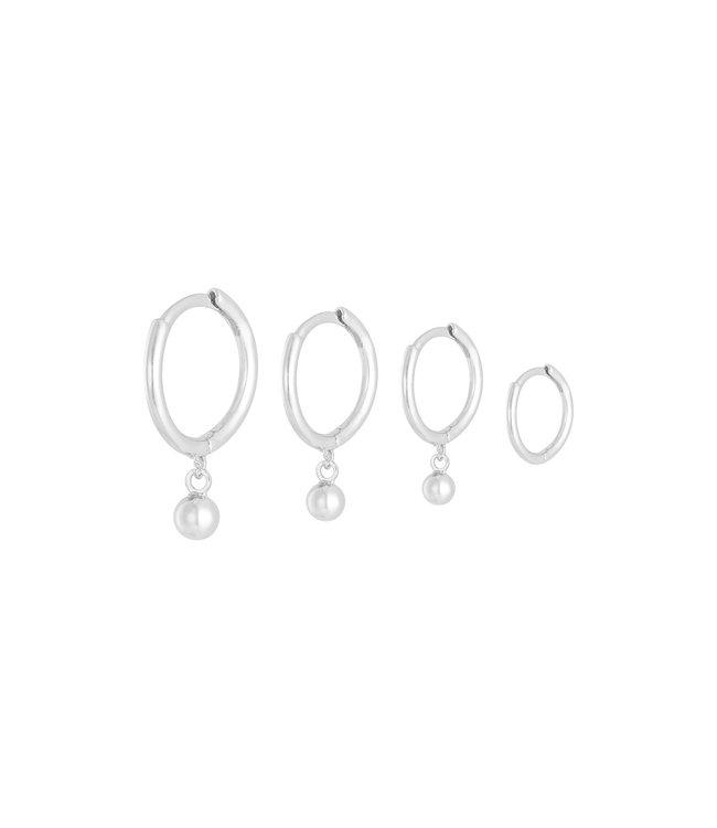 Basic Love Earrings Set