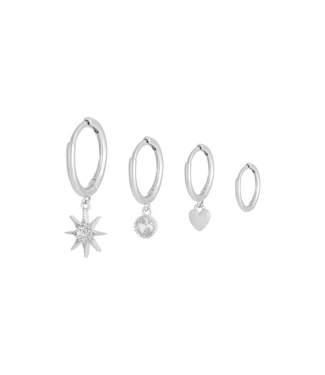 Sparkle Away Earrings Set