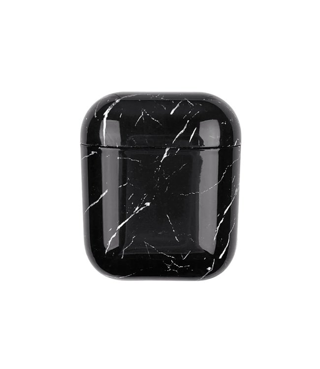 Marble Black Airpods Case