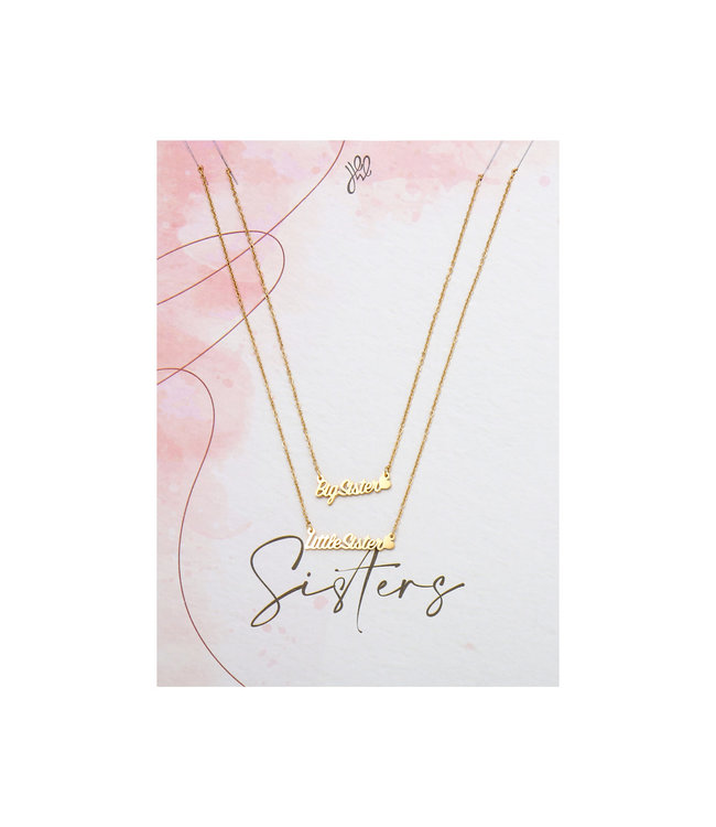 Big & Little Sister Necklace Giftcard