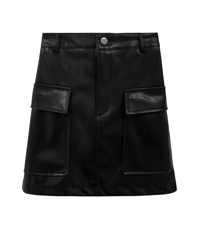 Leather Army Skirt