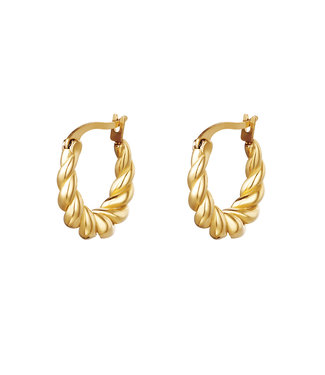 Dangling Twist Earrings