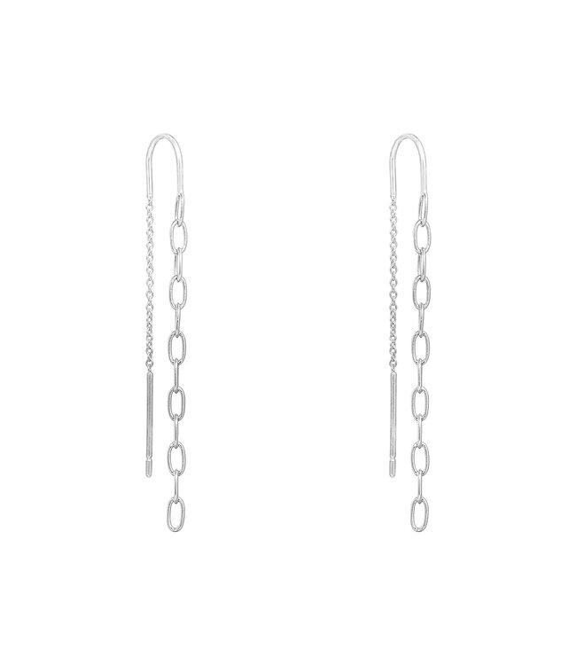 Chained Dangle Earrings
