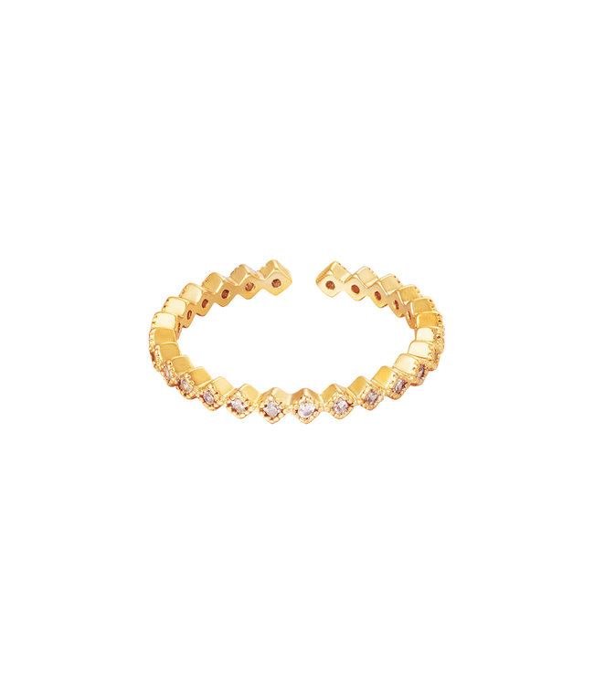 Gold Lullaby Ring