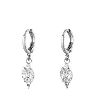 Shining Diamond Earrings