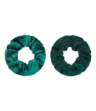 Dawn Scrunchie Set / Emerald