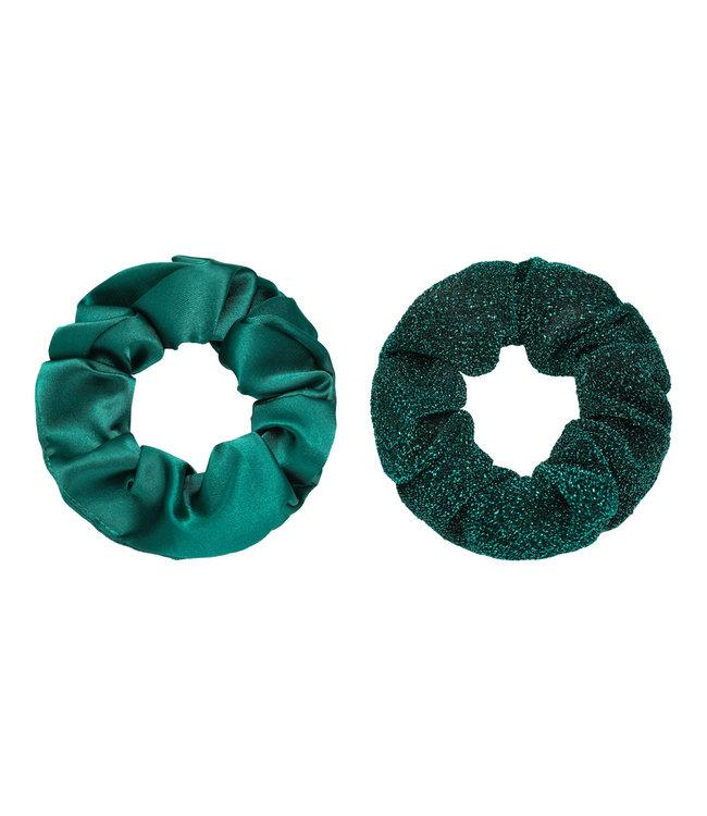 Dawn Scrunchie Set / Emerald