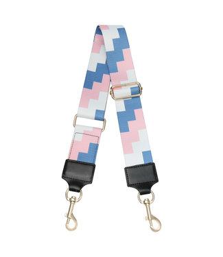 Blocks Bag Strap / Pink